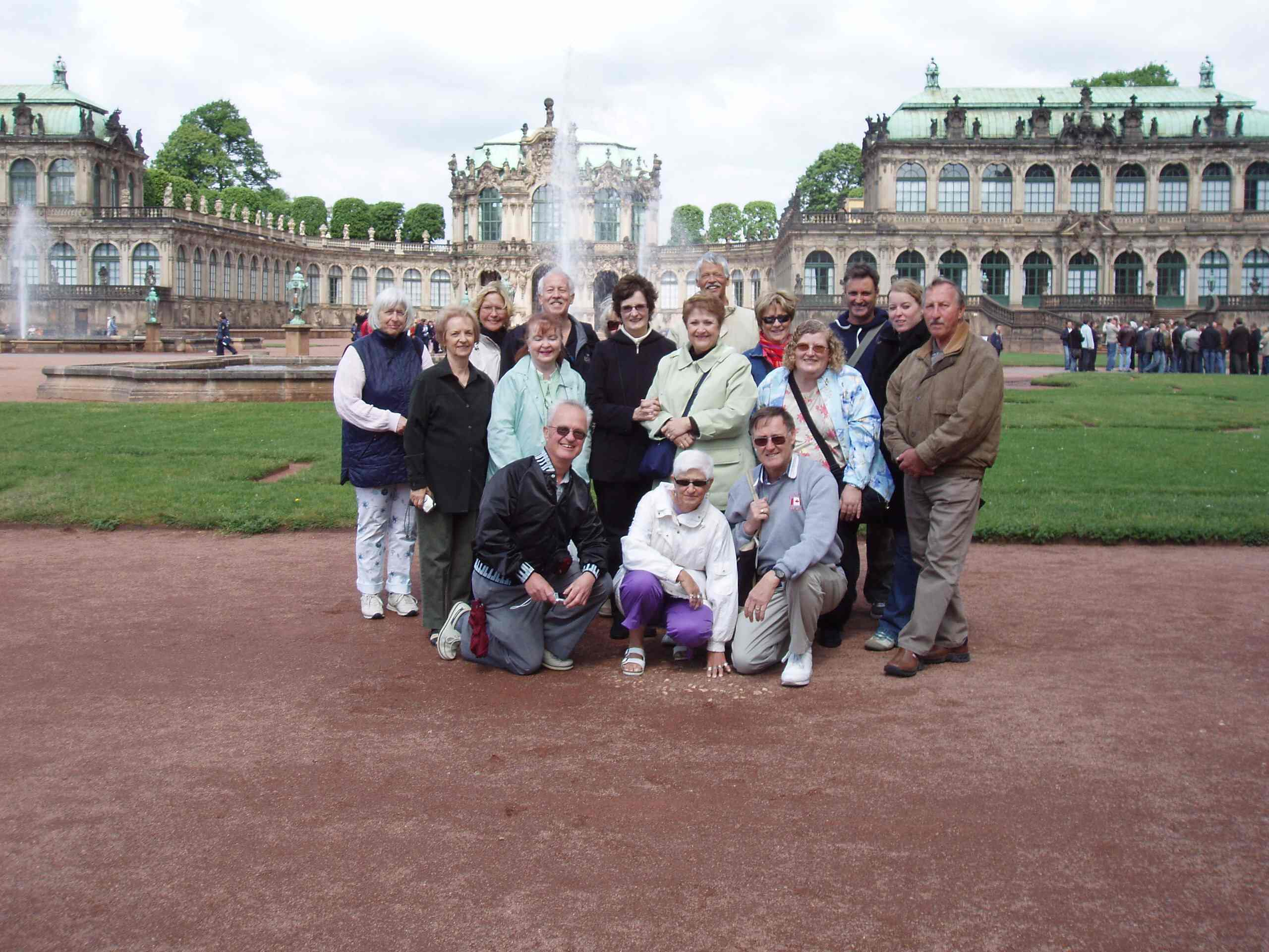 Canamger gang at the Zwinger