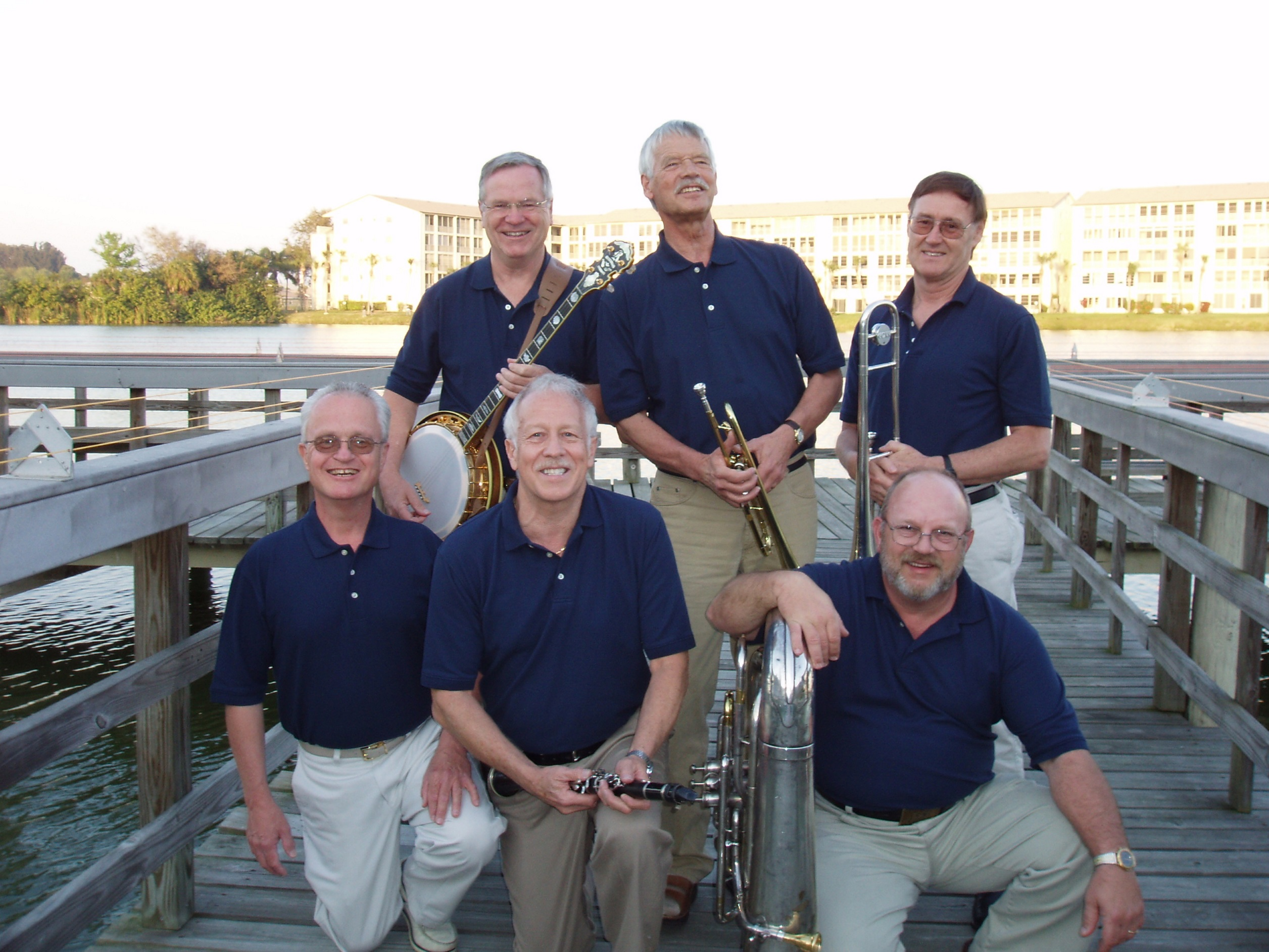 The Canamger Jazz Band at Venice, Florida